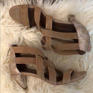 Donald J Pliner Strappy Heels